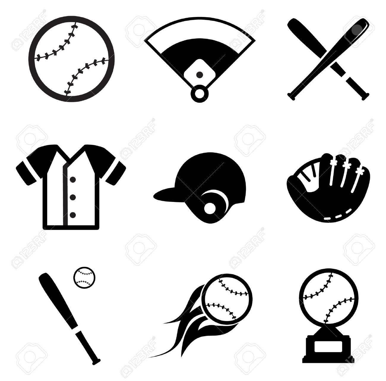 Baseball Icons - 37624834