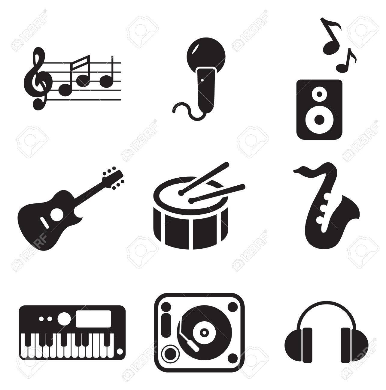 Music Icons - 37627163