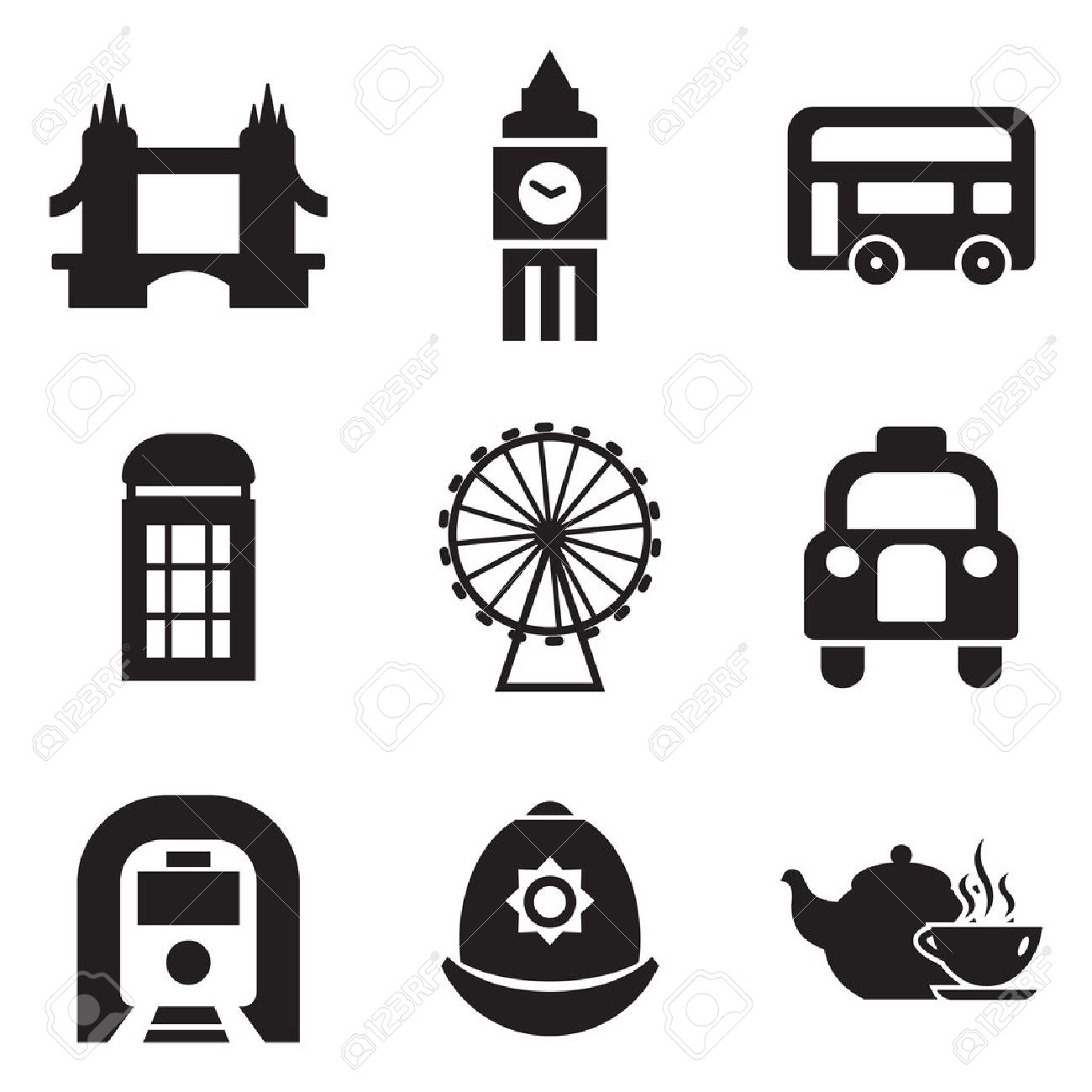 London Icons - 37669657