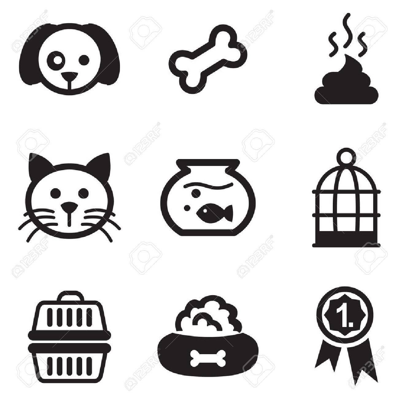 Pet Icons - 47121191