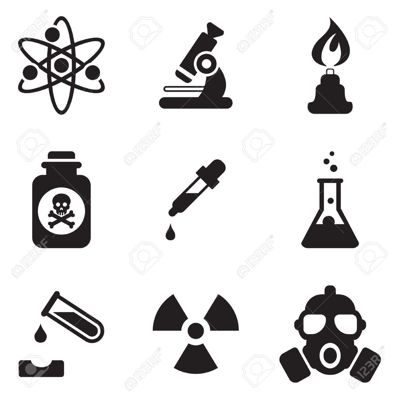 Chemistry icons - 47306804