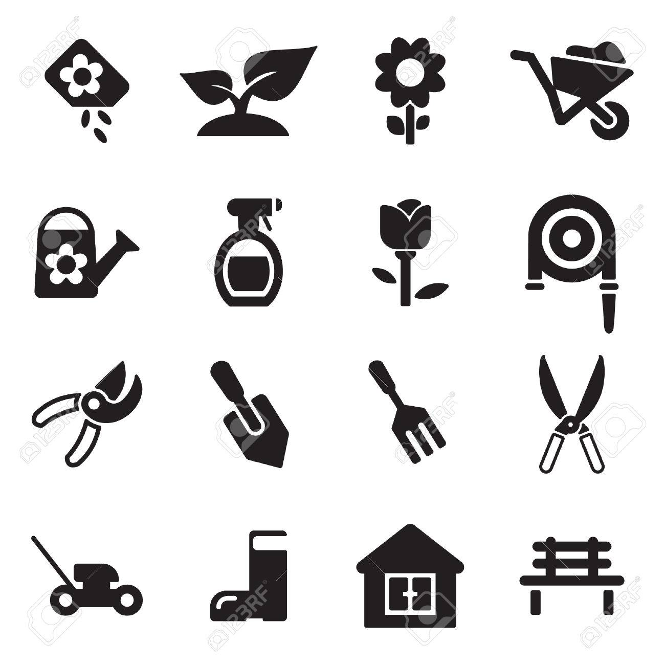 Gardening Icons - 47313421