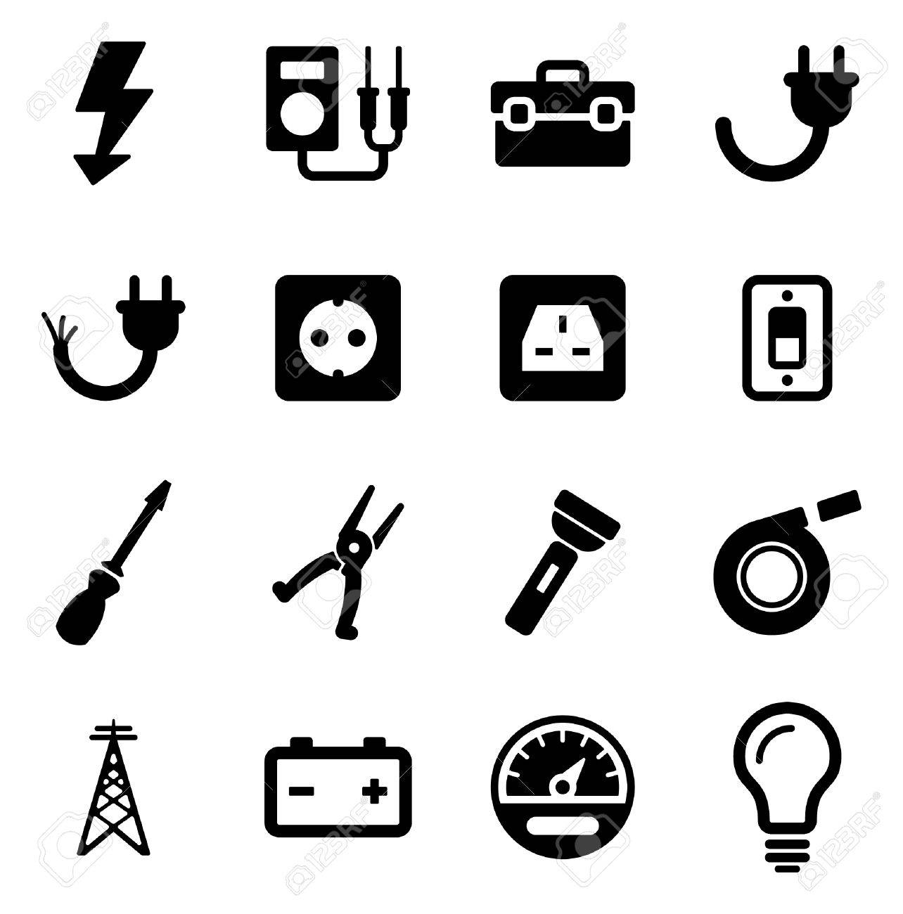 Electrician Icons - 47623834