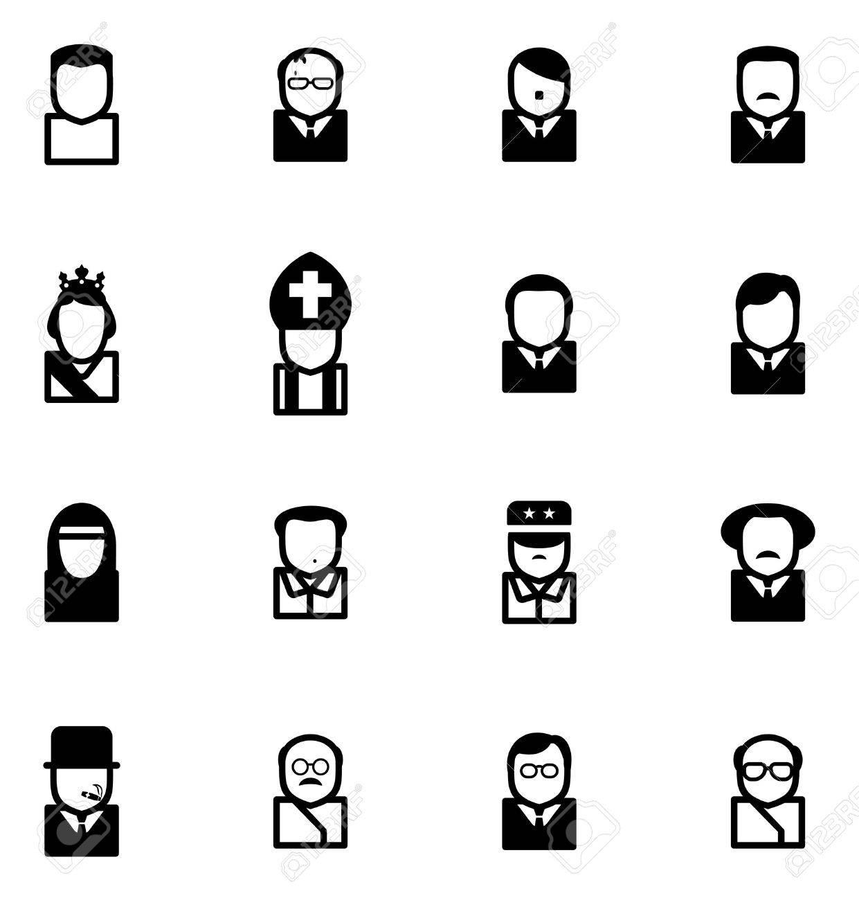 Avatar Icons 20th Century Historical Figures - 52080205