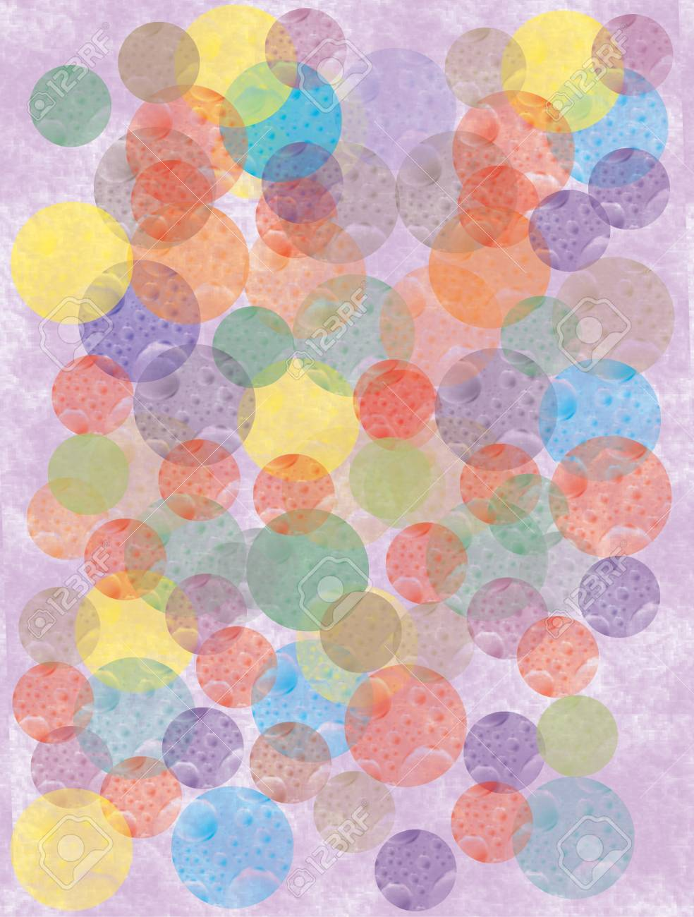 abstract circles background Stock Photo - 9221468
