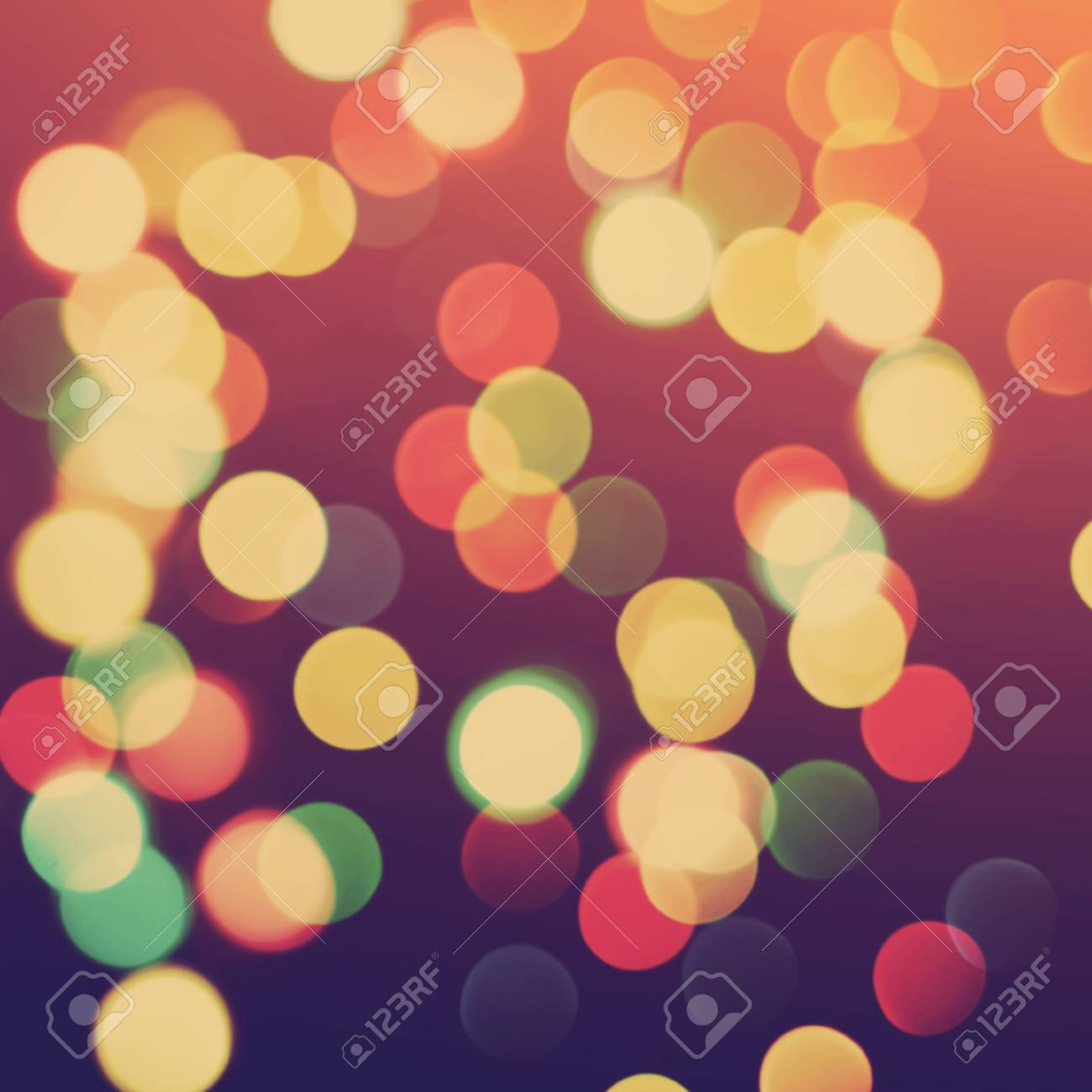 multicolored blurred christmas lights colorful background bokeh vintage greeting card stock photo 48055139 - Blurred Christmas Lights