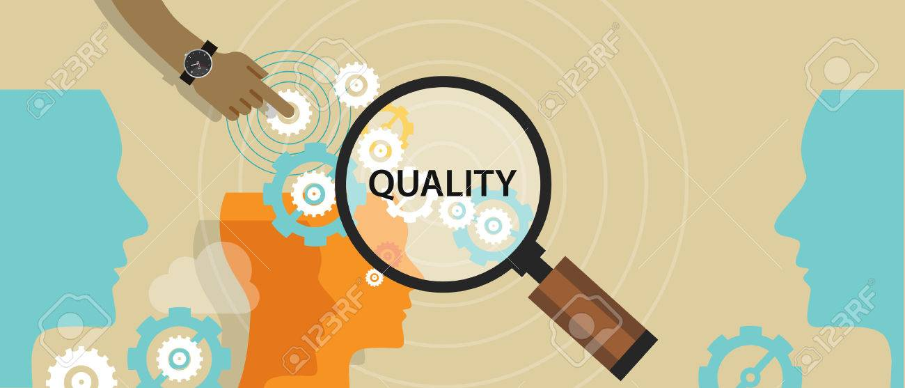 quality control management total solution production manufactoring vector - 44522752