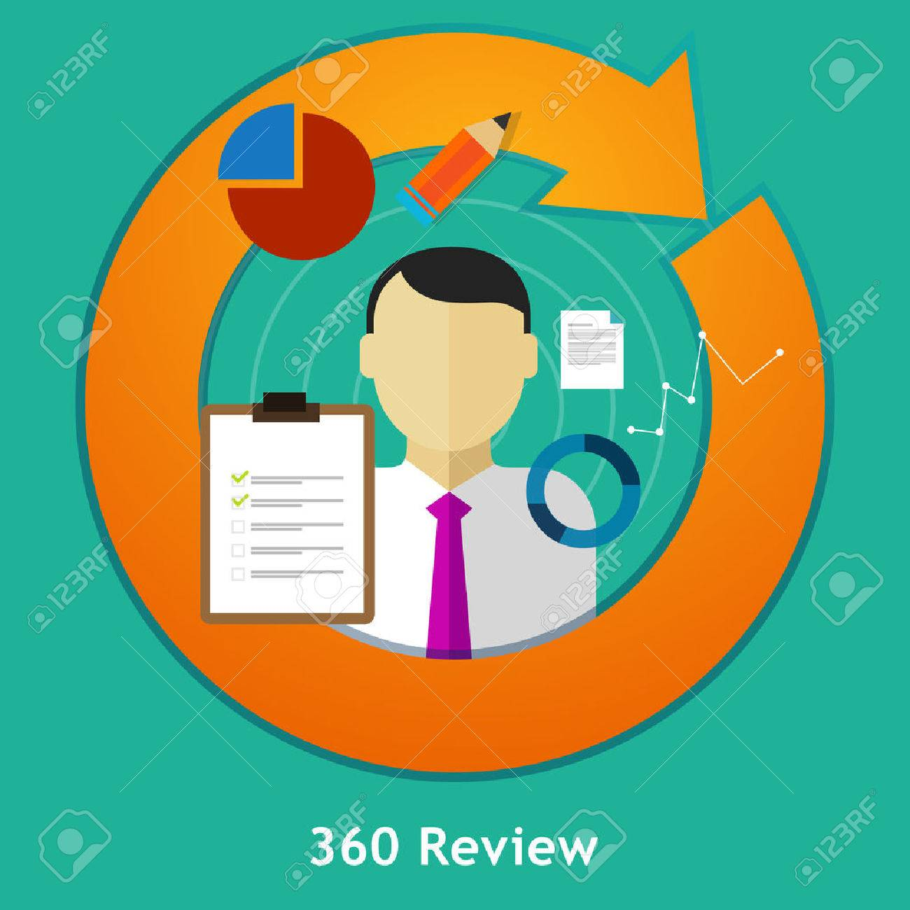 360 Degree Review Feedback Evaluation Performance Employee Human – 360 Evaluation