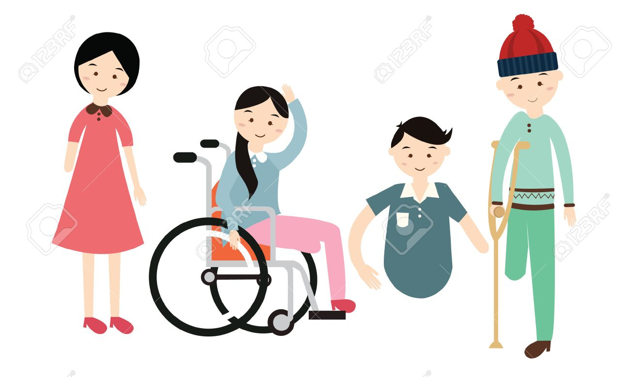 21 102 disability stock illustrations cliparts and royalty free rh 123rf com disability clip art images and employment disability awareness clipart