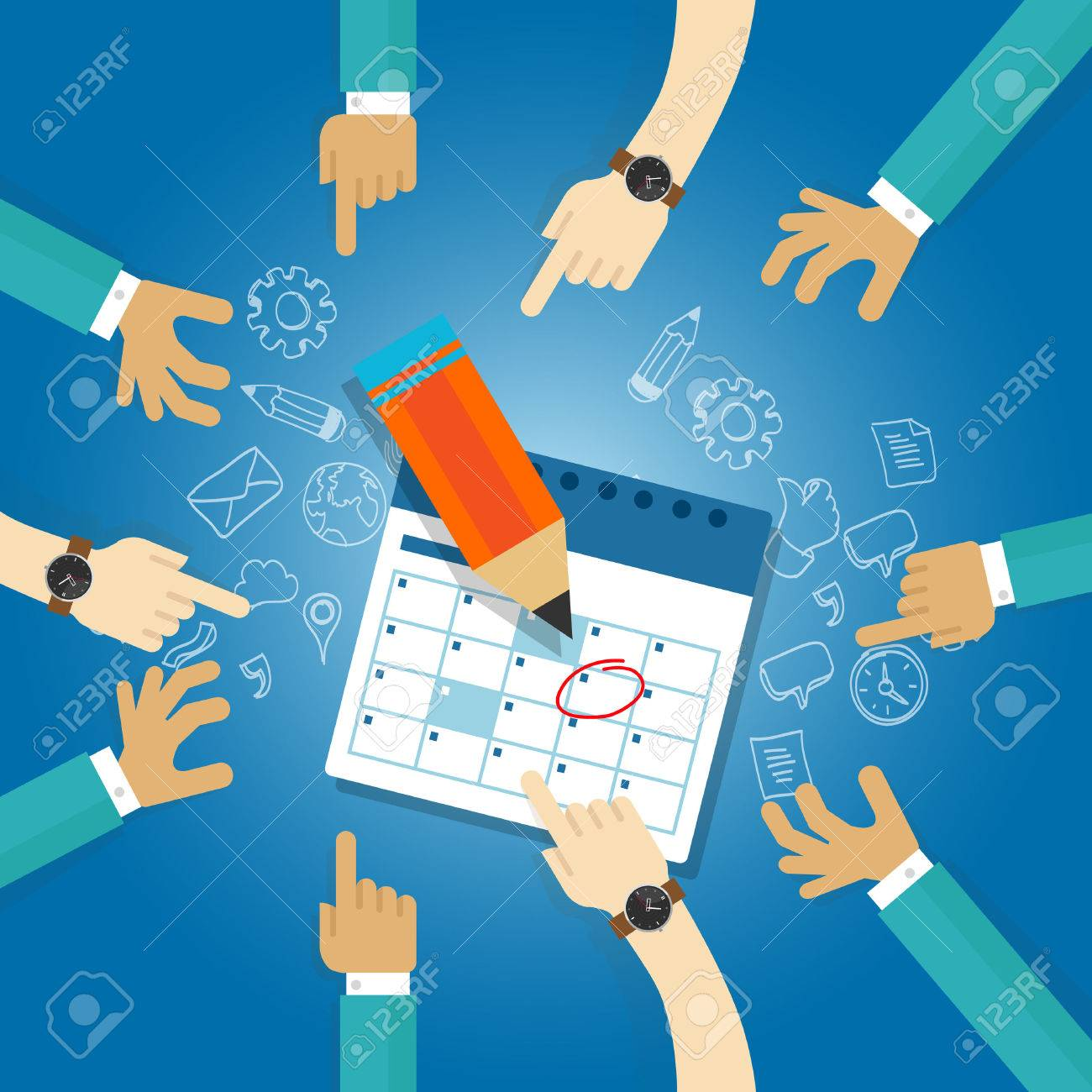 action plan calendar deadline target collaboration team meetings agenda business date next milestone achieve date together - 53582366