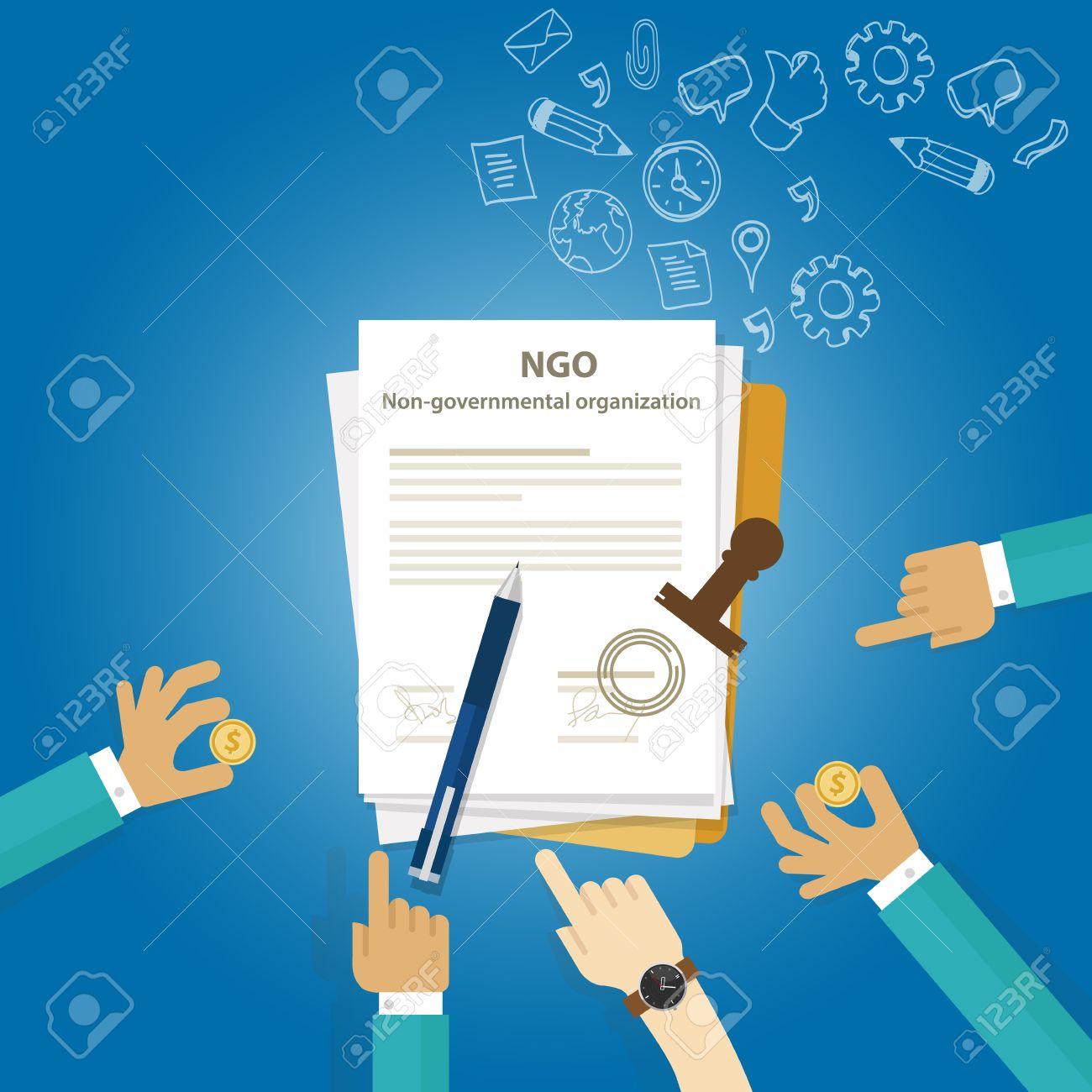 ngo non government organization types of business corporation ngo non government organization types of business corporation organization entity stock vector 53969359
