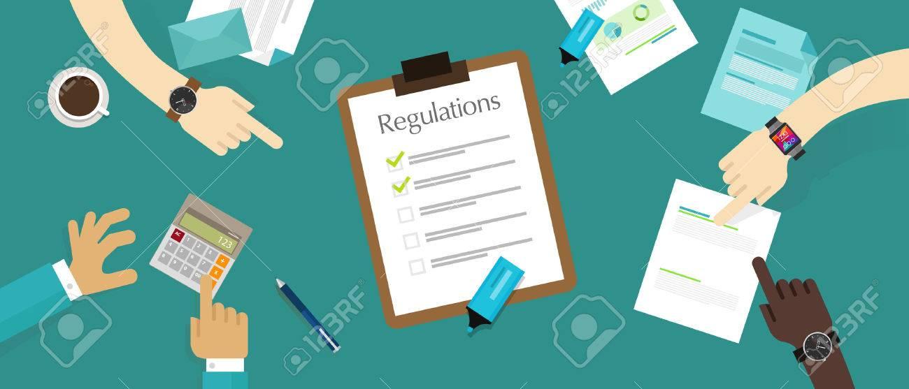regulation law standard corporation document requirement paper - 55580711