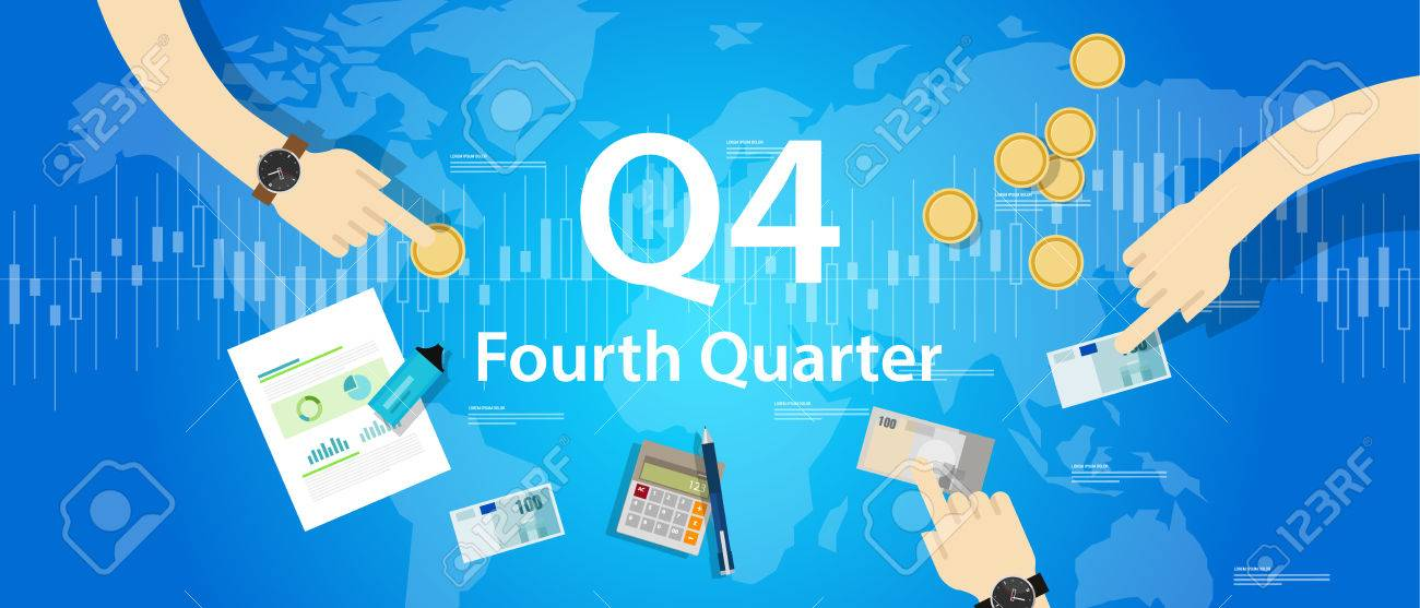 Q4 fourth quarter business report target corporate financial result - 79087637
