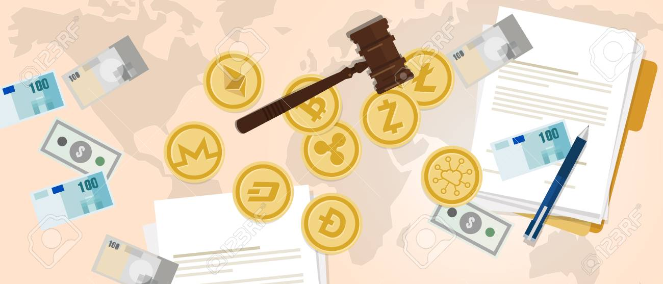 how is cryptocurrency legal