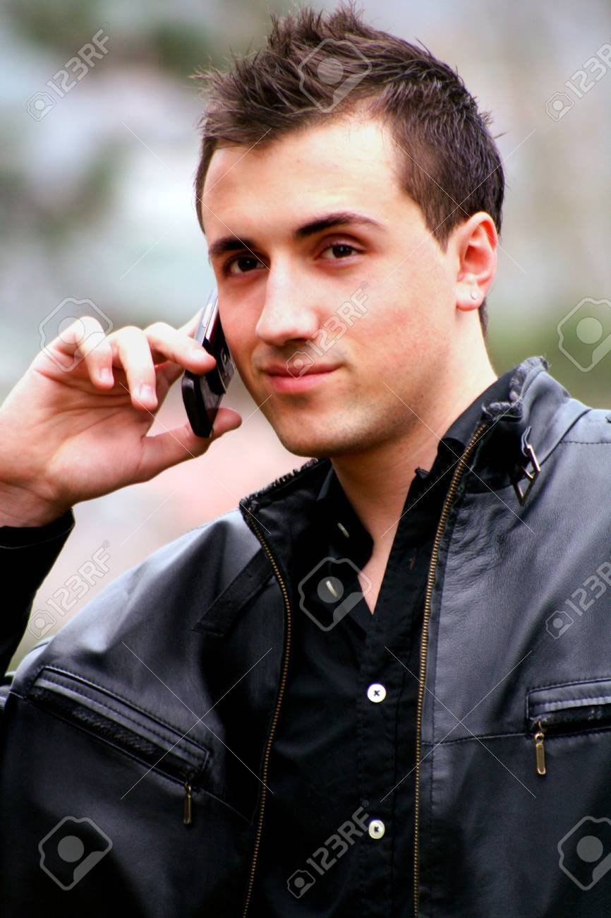 Young Businessman on the Phone 2 Stock Photo - 4612750