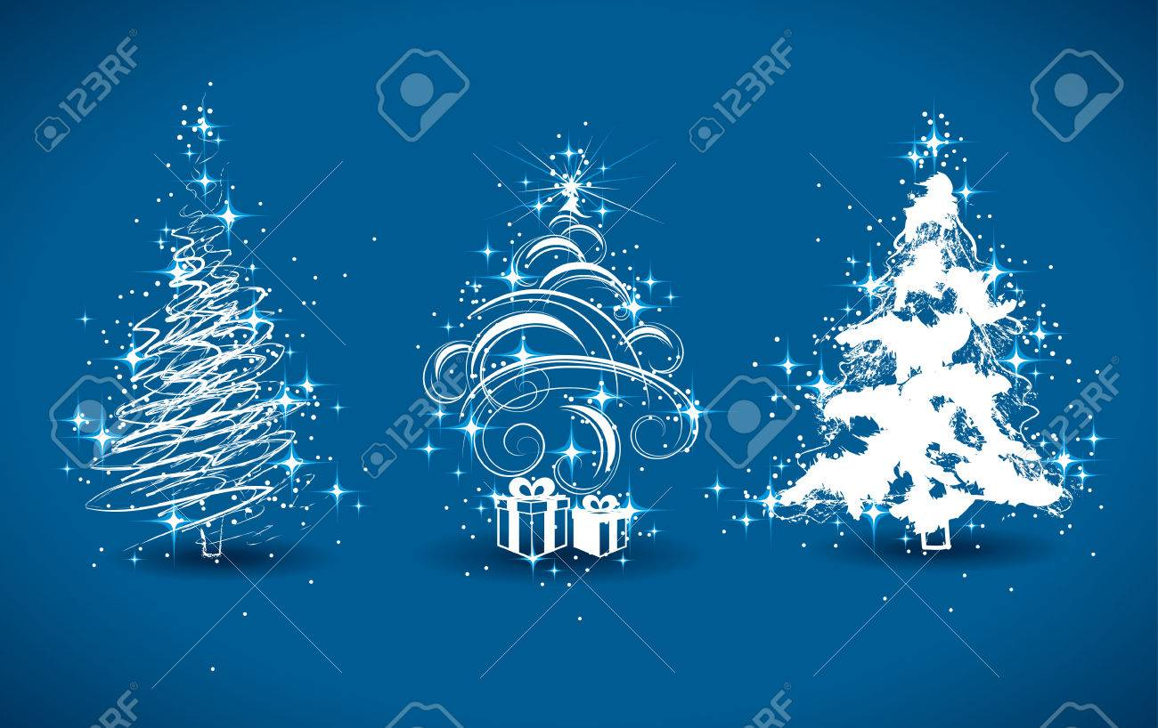Christmas trees Stock Vector - 5727599