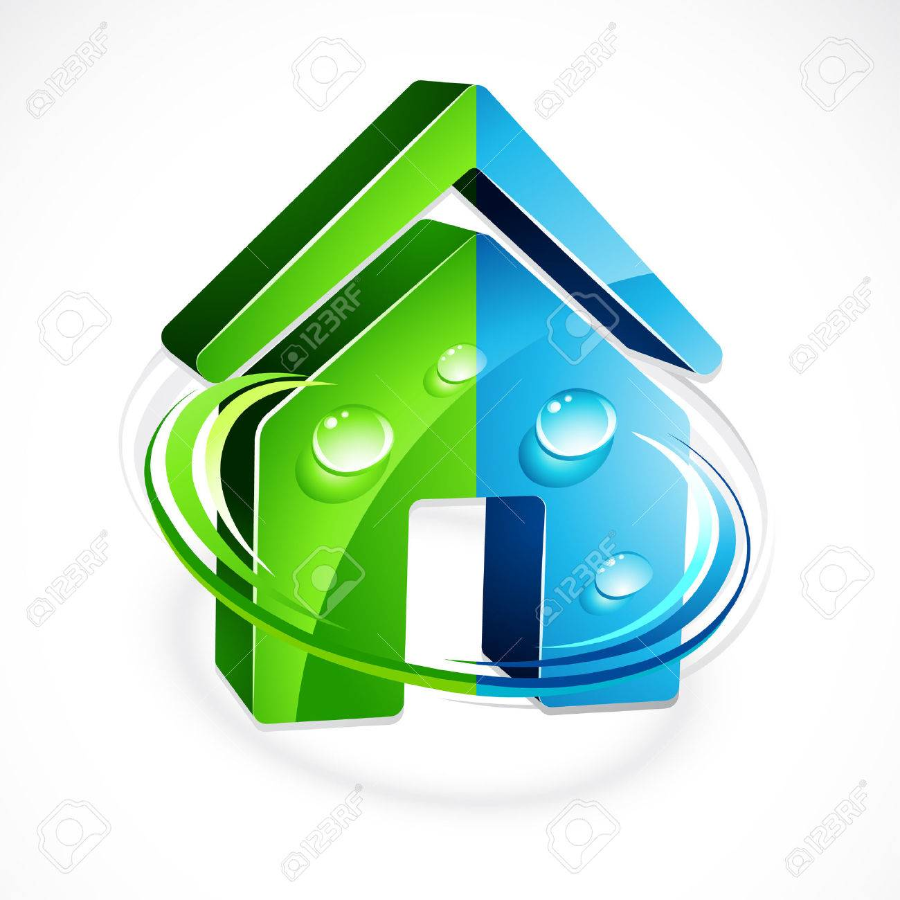 Ecological house Stock Vector - 6709703
