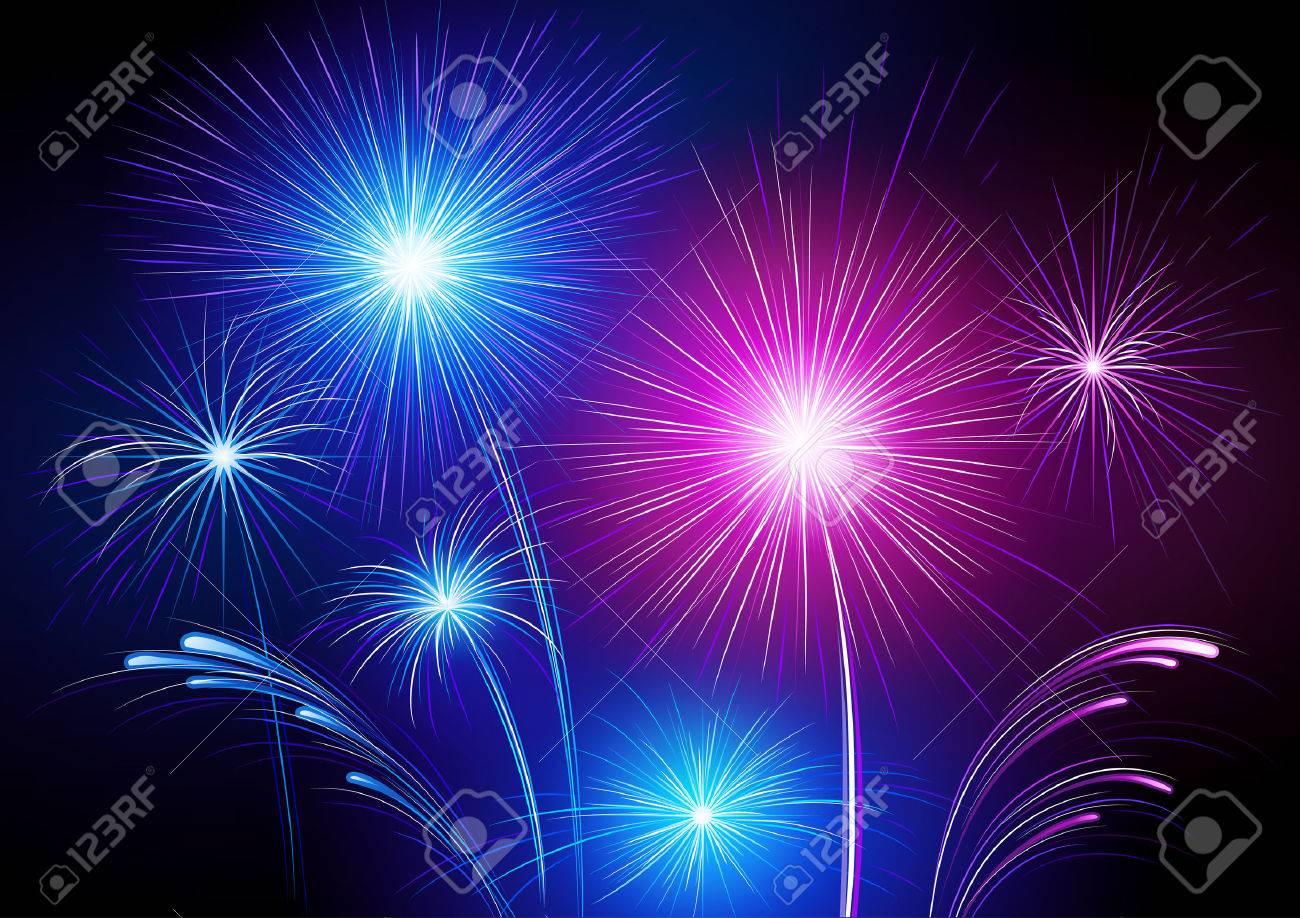 Fireworks Stock Vector - 7695984