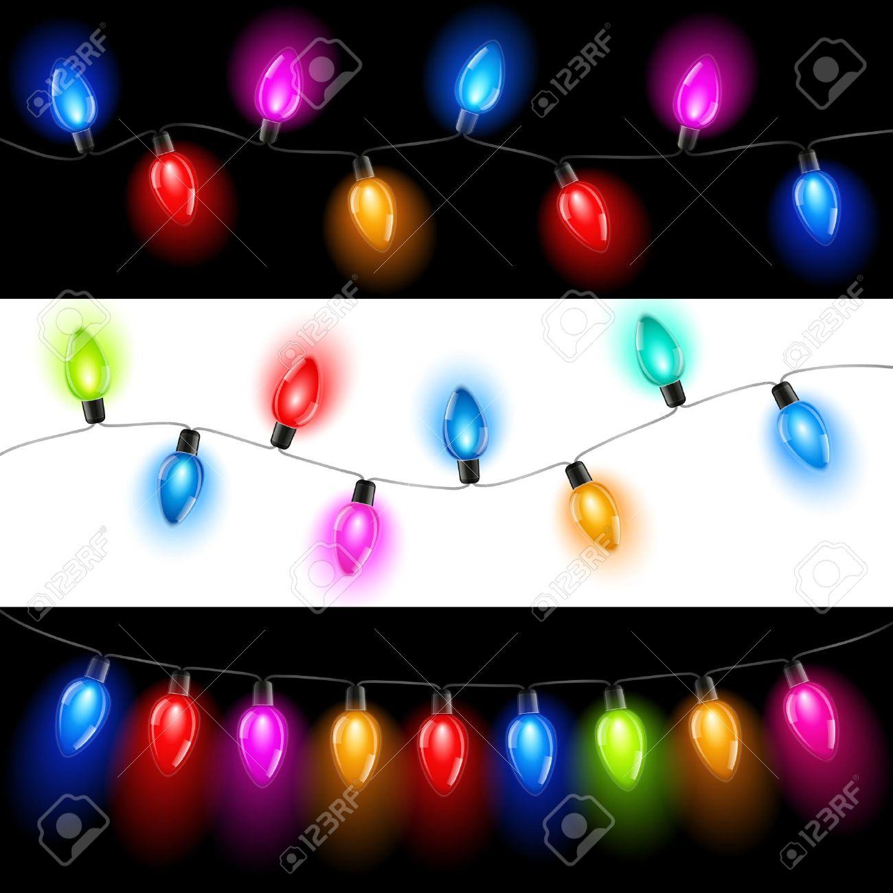 Christmas lights Stock Vector - 11476554