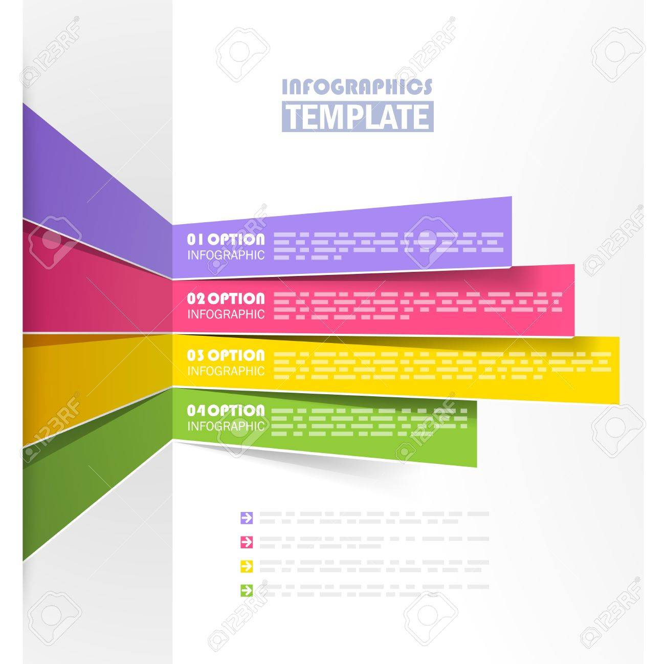 Creative info graphic template Stock Vector - 20198199