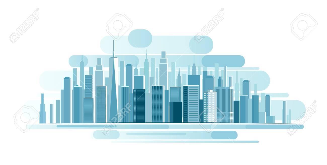 Urban Landscape background. abstract illustration - 58199743