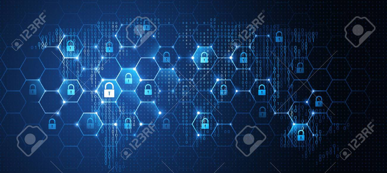 Global network security. Vector - 73248361