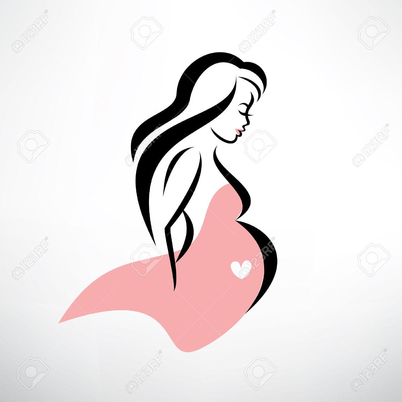 Символ беременной женщины