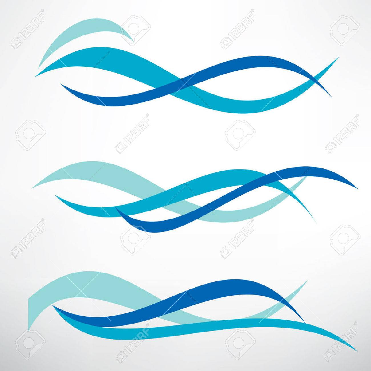 water wave set of stylized vector symbols design elements for rh 123rf com wave vector png wavevector spectrum