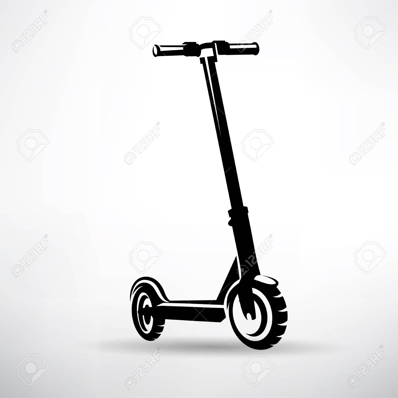 electric scooter vector symbol royalty free cliparts vectors and stock illustration image 102890688 123rf com