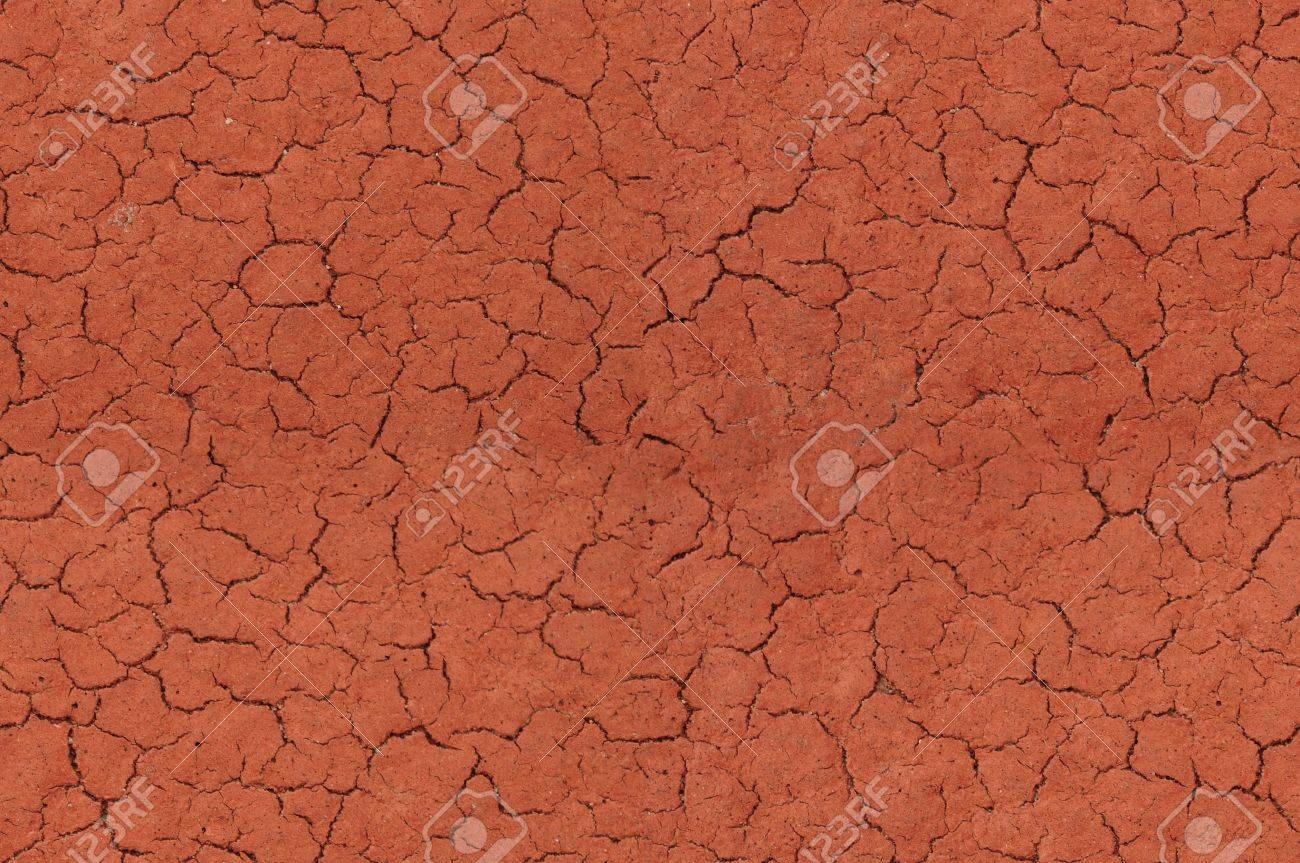 Cracked red textured surface background, seamlessly tileable Stock Photo - 8281599