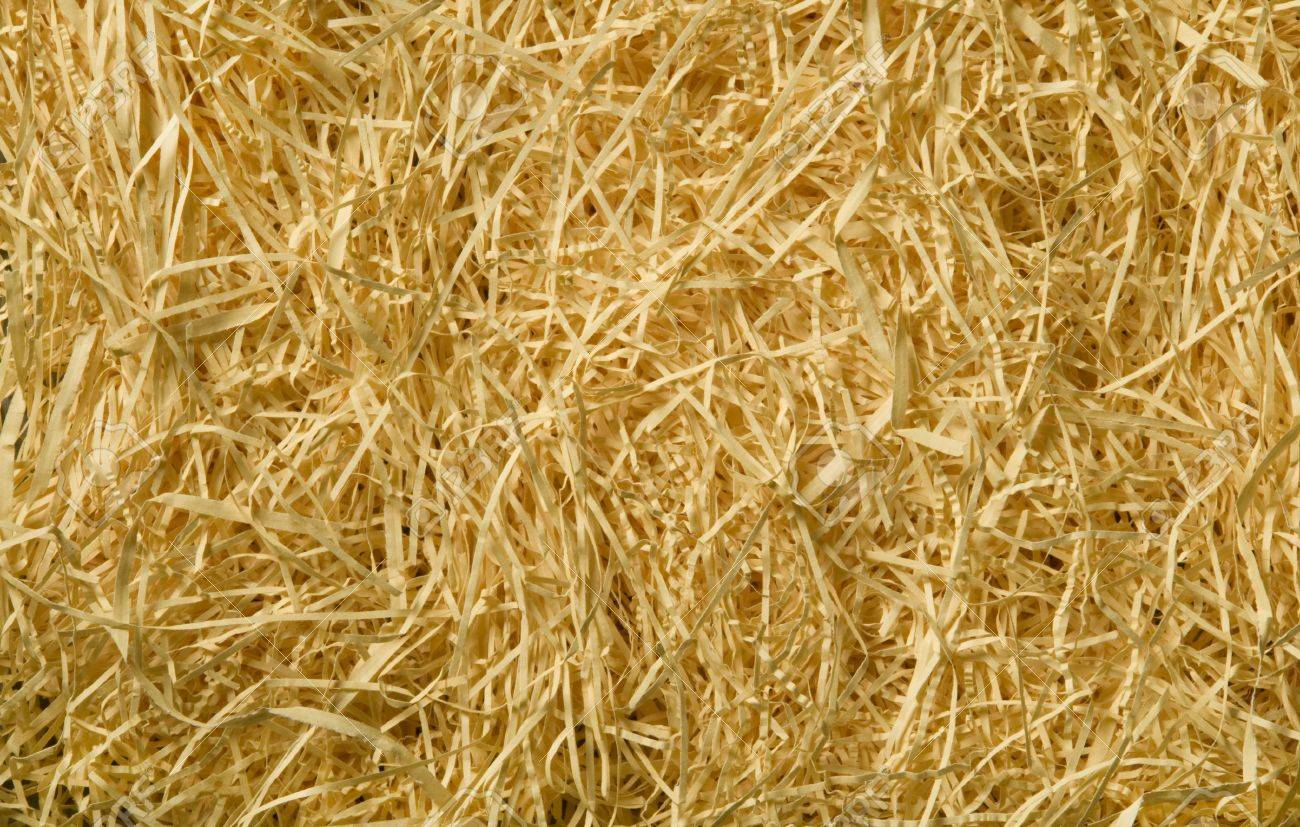 Yellow packing straw material background texture Stock Photo - 20916558