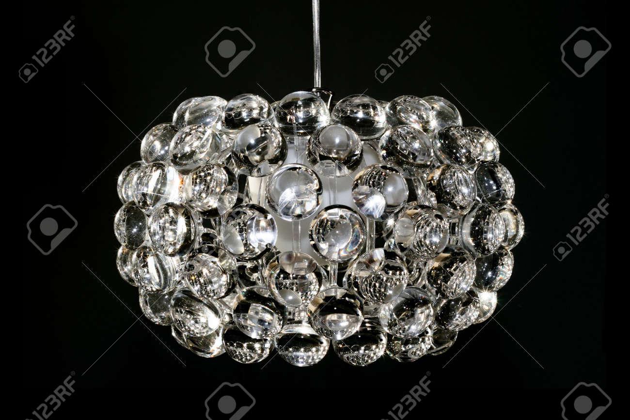 Kronleuchter Kristall Klein ~ Disco mit großer kronleuchter kristall lupe bälle lizenzfreie