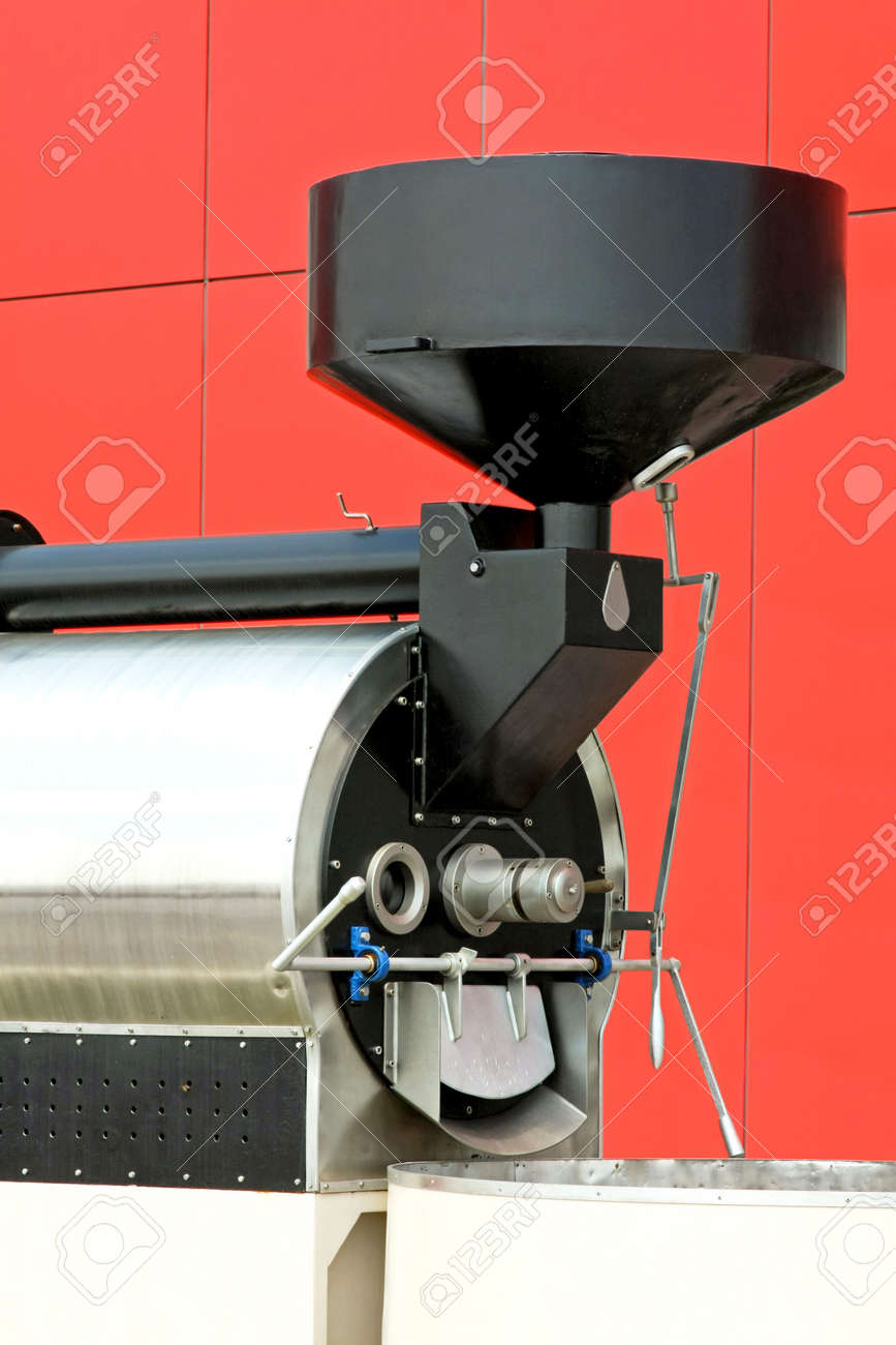 Big industrial milling machine for roasted coffee Stock Photo - 3326845