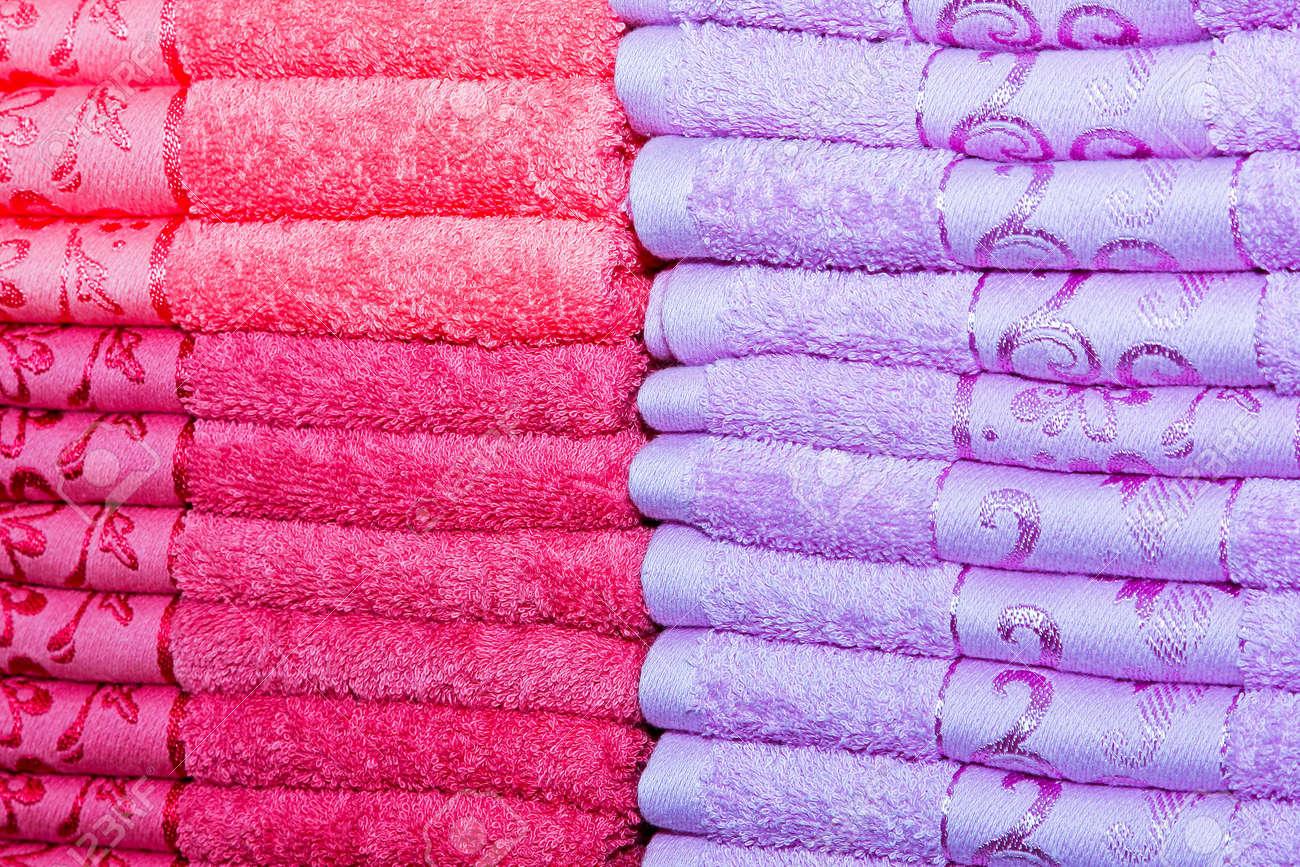 pink bathroom towels
