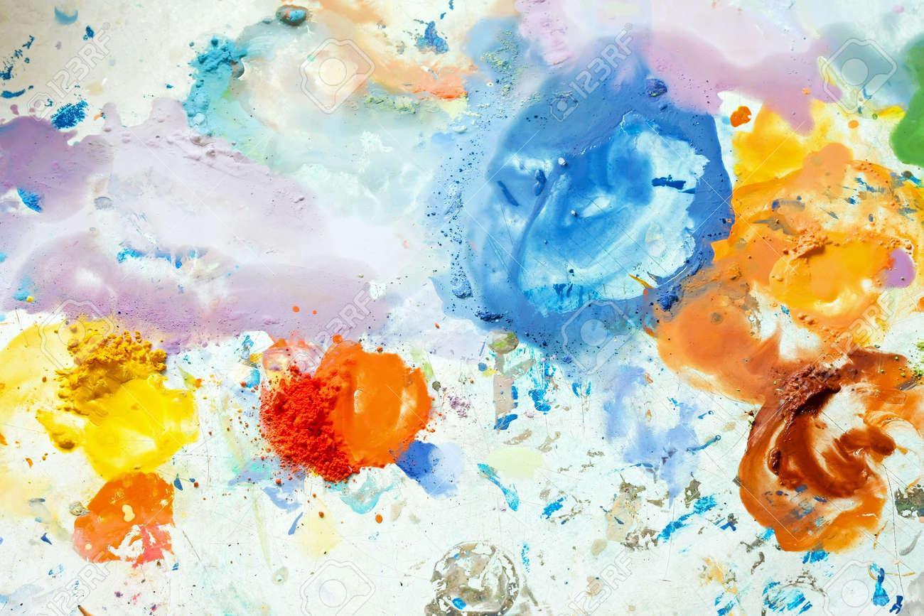 banque dimages colorant peinture acrylique color mix pour lartiste - Colorant Les Artistes