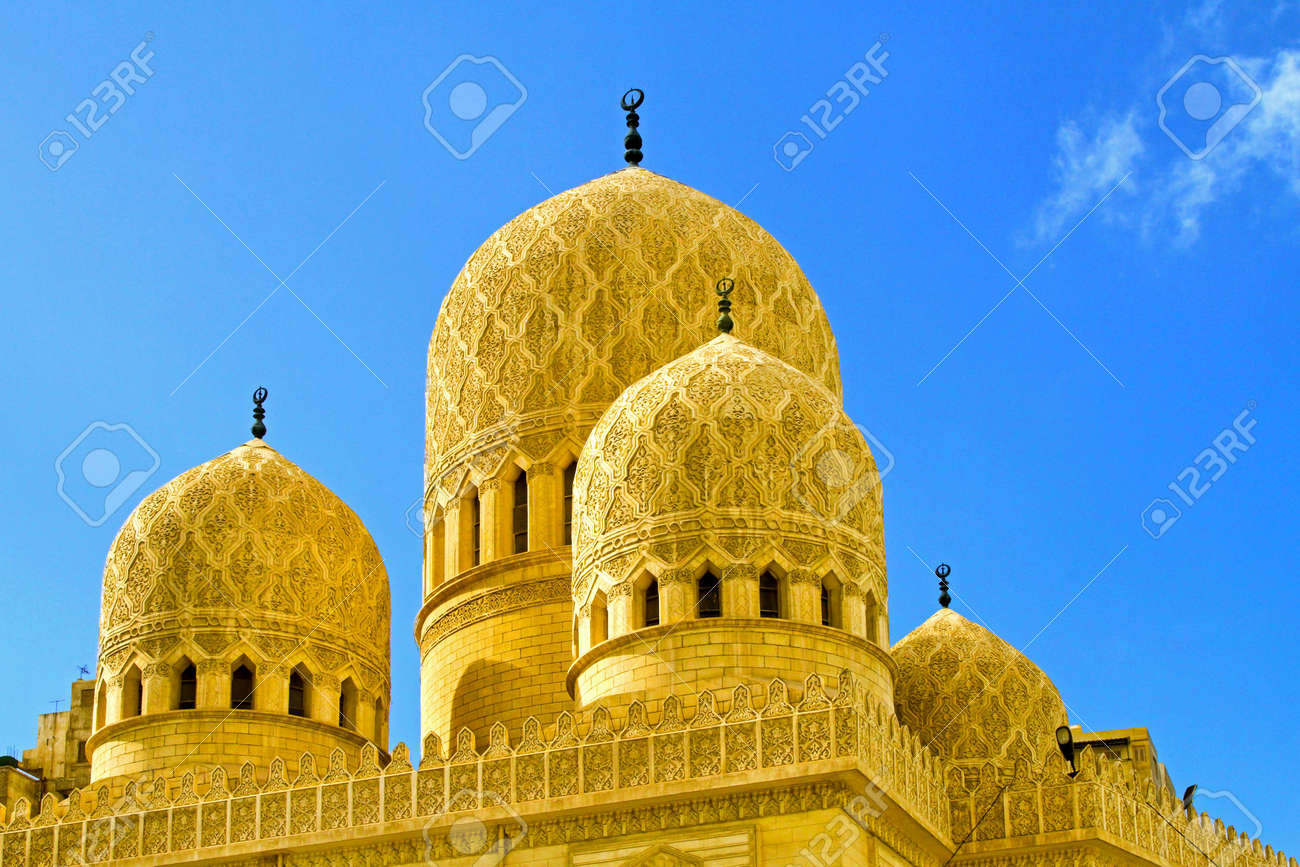 Detail of ancient mosque domes and minarets Stock Photo - 7417068