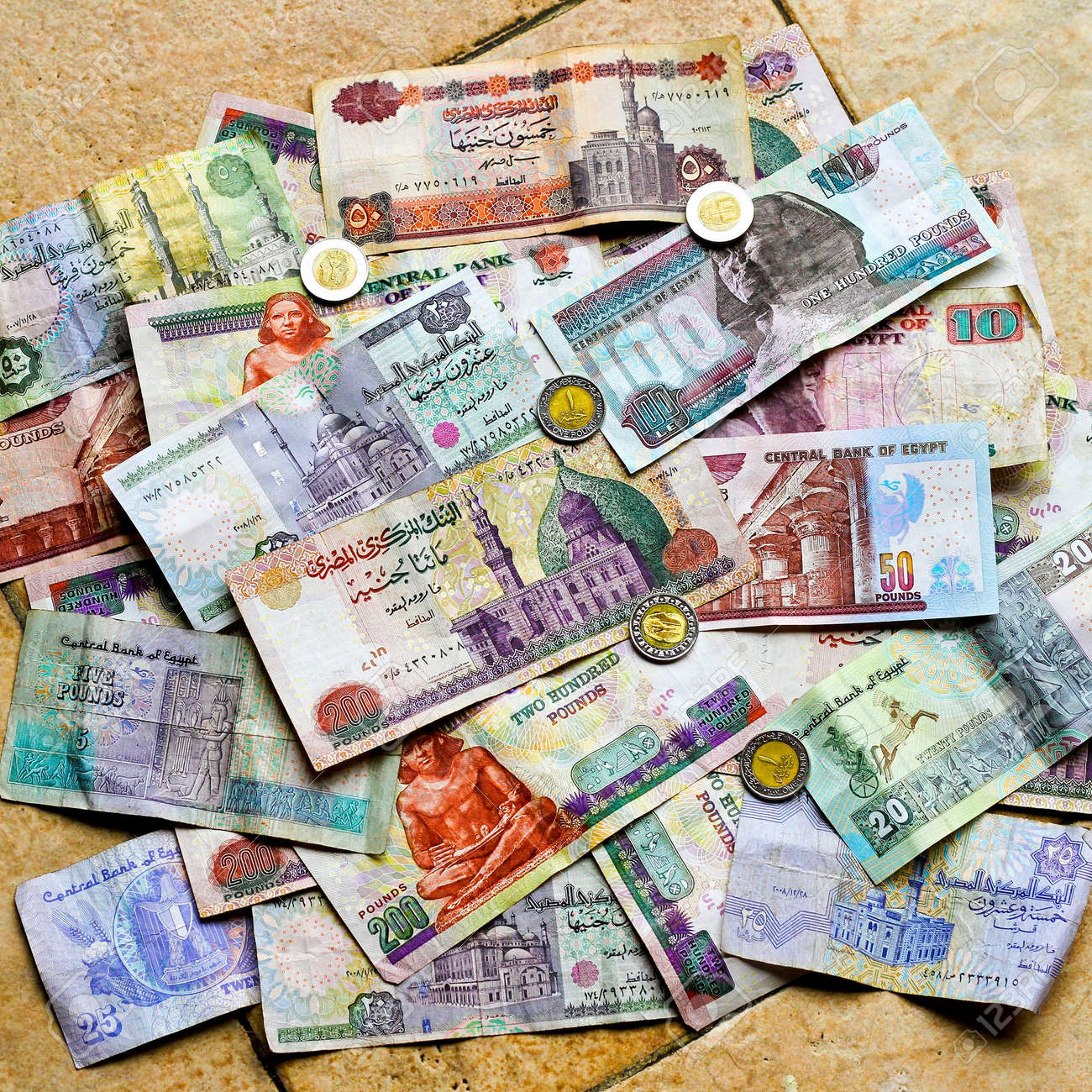Image result for Egyptian pound banknotes