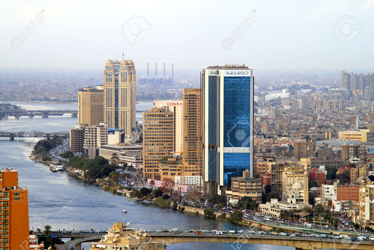 What are the physical characteristics of Cairo, Egypt?