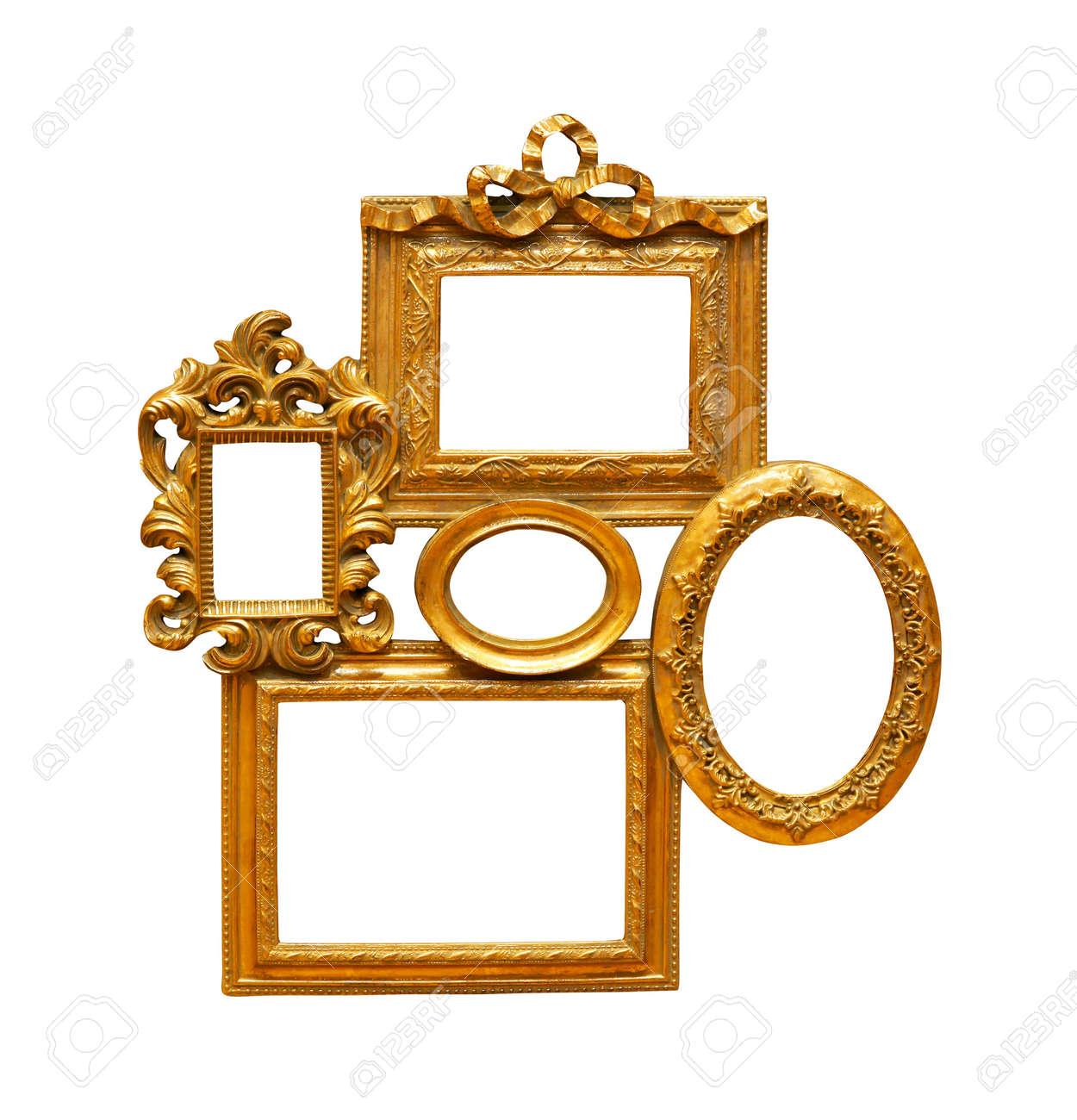 collage of decorative frames stock photo 9149756 - Decorative Frames