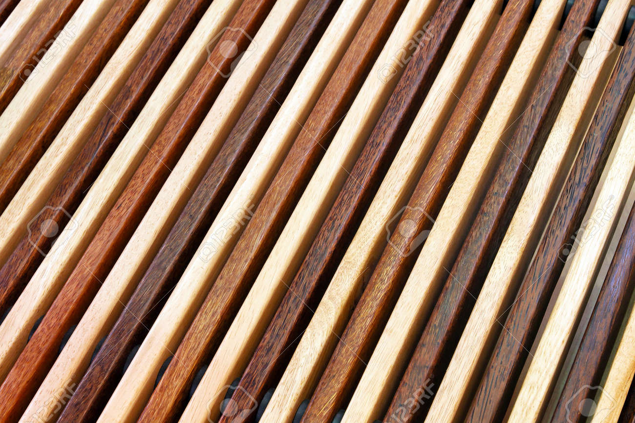 Two tone diagonal wood lines background Stock Photo - 12350874