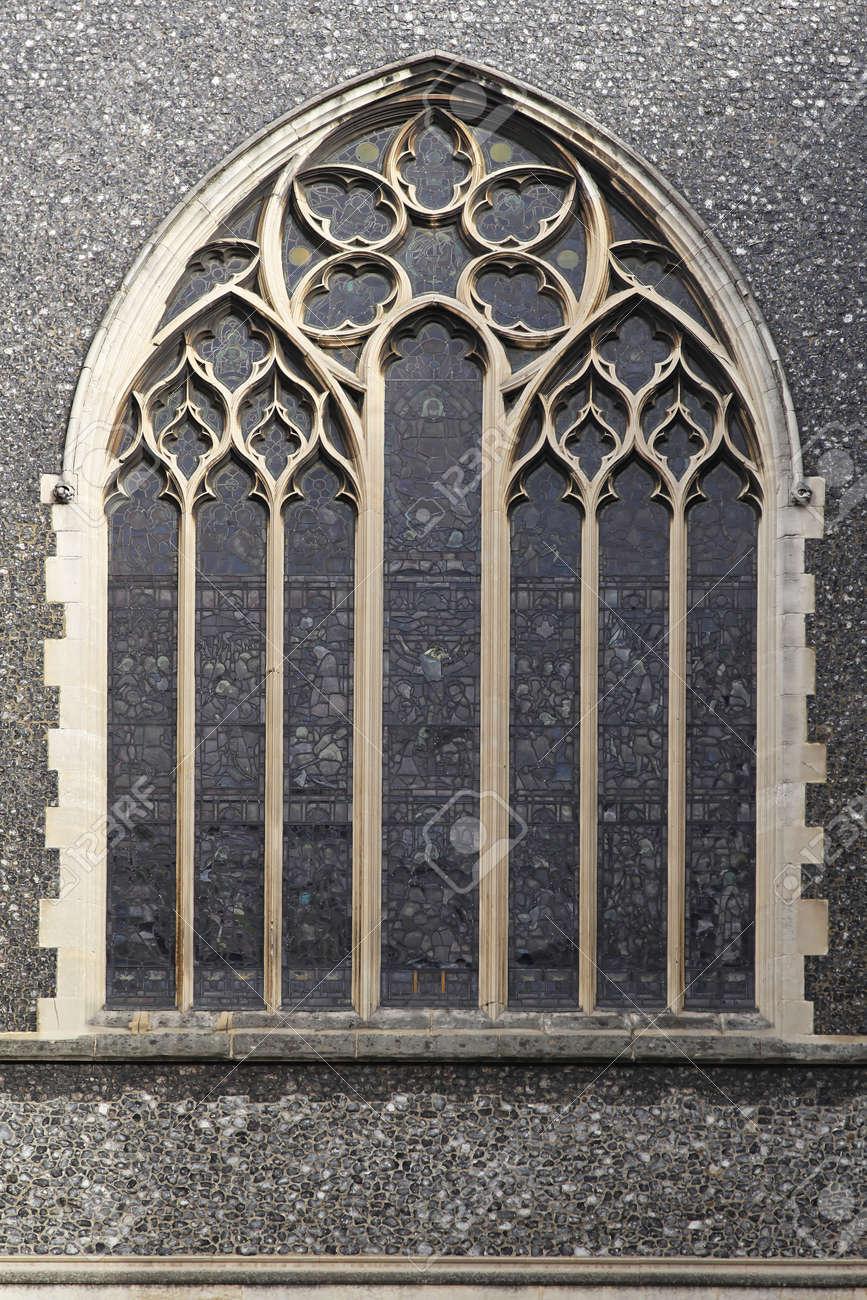 Stained glass window at Saint James of Paddington church Stock Photo - 16601281