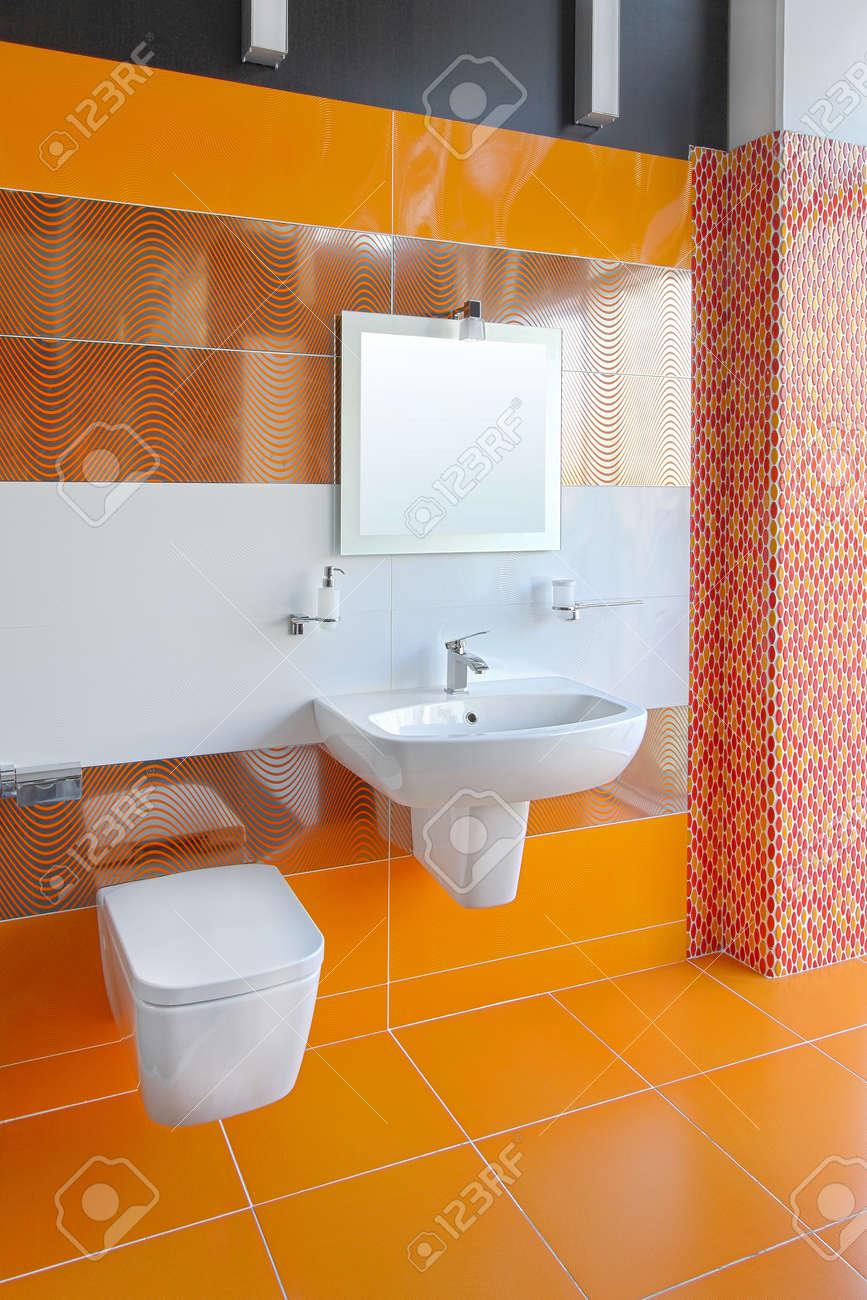 arredare in arancione (foto 30/40) | design mag. piastrelle per ...