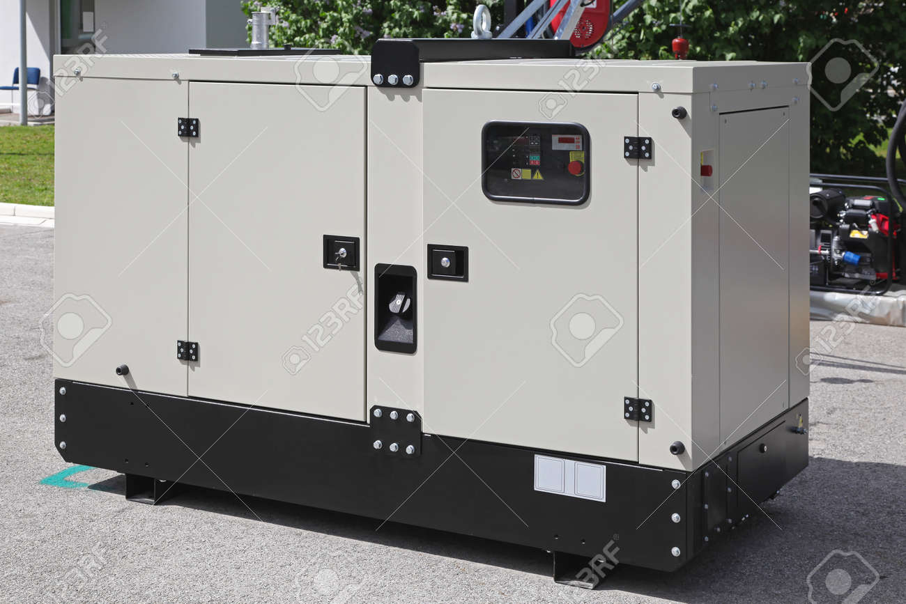 Mobile diesel generator for emergency electric power Stock Photo - 19187785