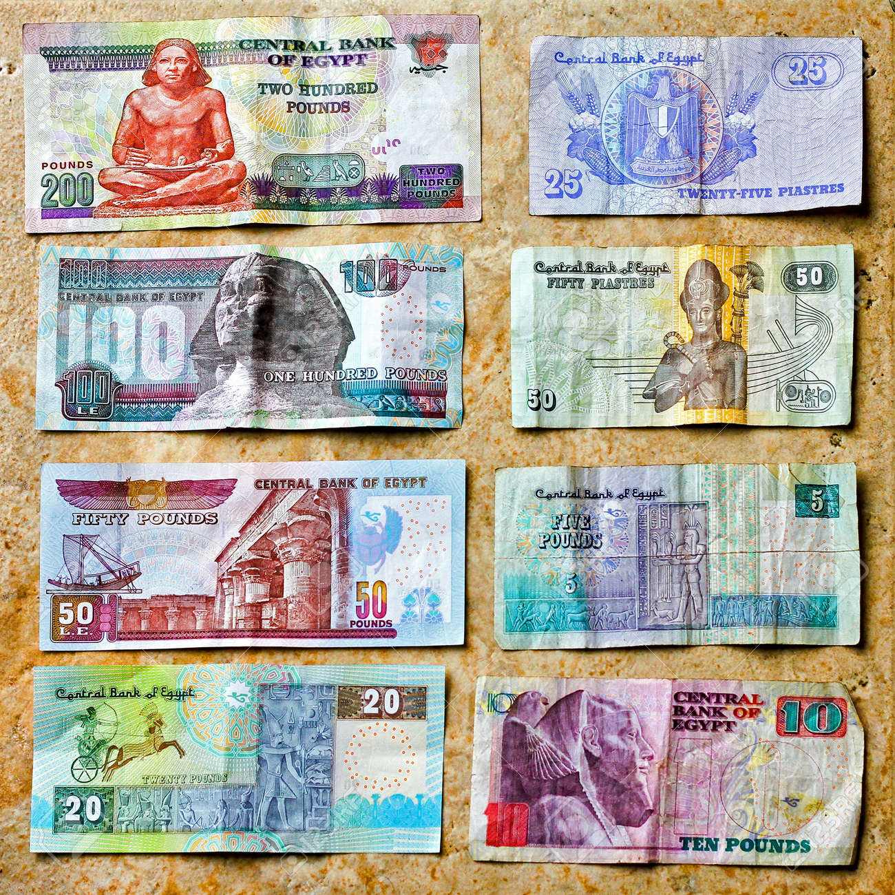 What is the currency in Egypt