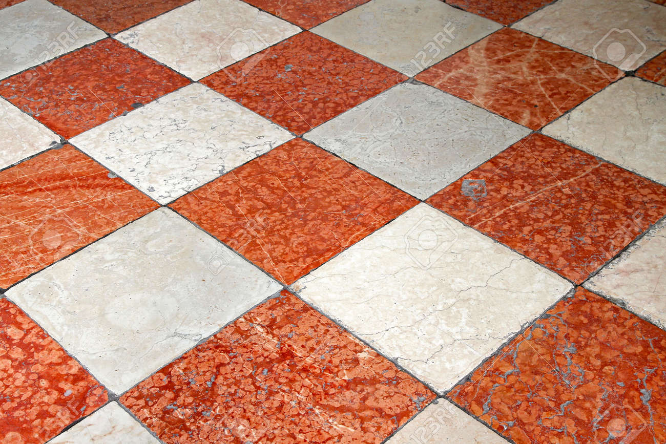 Red and white marble floor tiles stock photo picture and royalty red and white marble floor tiles stock photo 23264623 dailygadgetfo Image collections