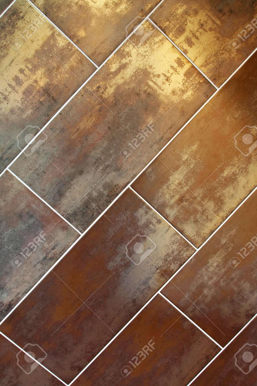bronze wall tiles  contemporary diagonal metalic bronze  - contemporarydiagonalmetalicbronzewalltilesstockphoto contemporary diagonalmetalic bronze wall tiles