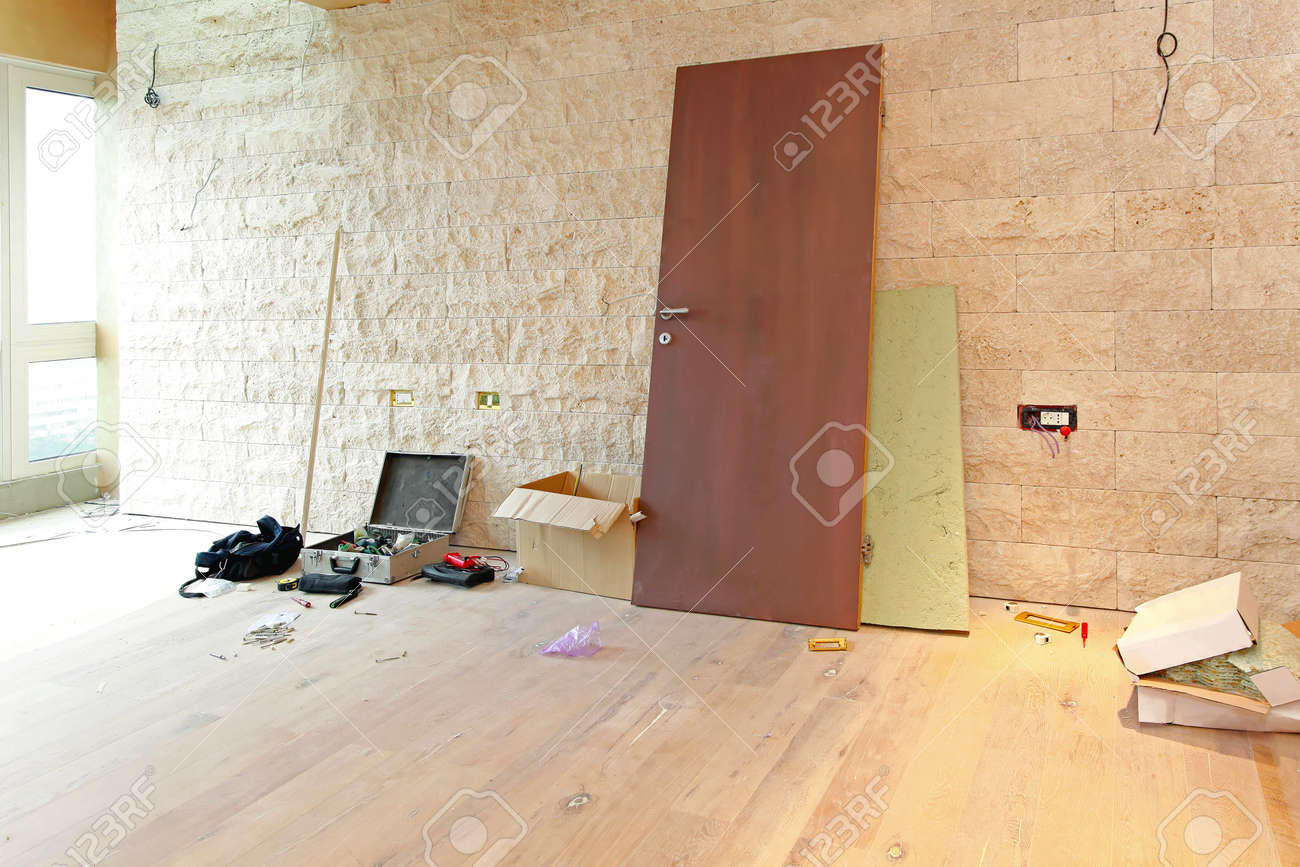Construction site for home improvement Stock Photo - 27942711