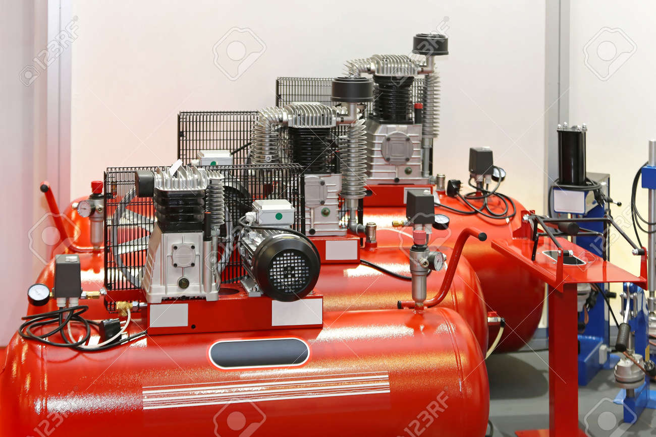 designs garage compressor in compressed piping air