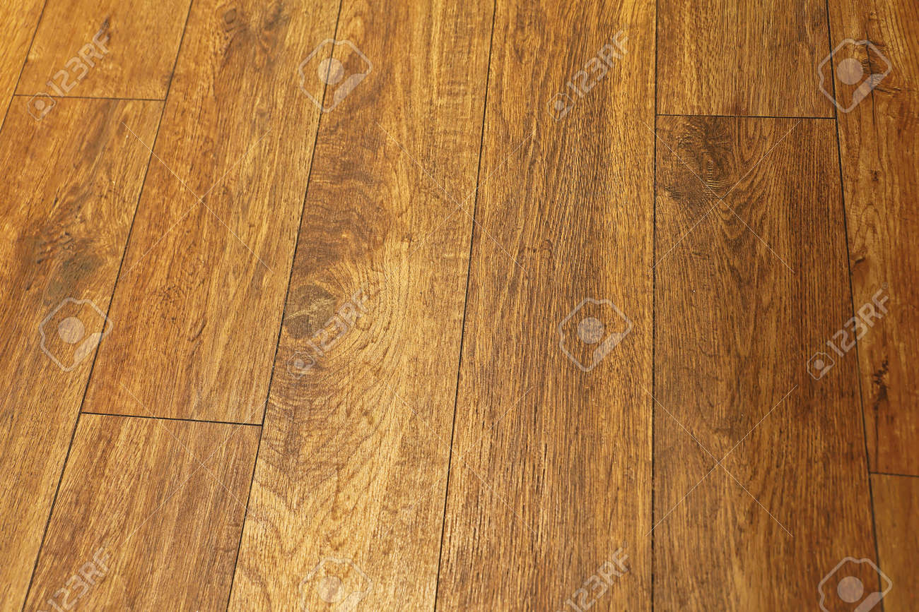 Dark Brown Hardwood Parquet Floor Tiles Stock Photo Picture And