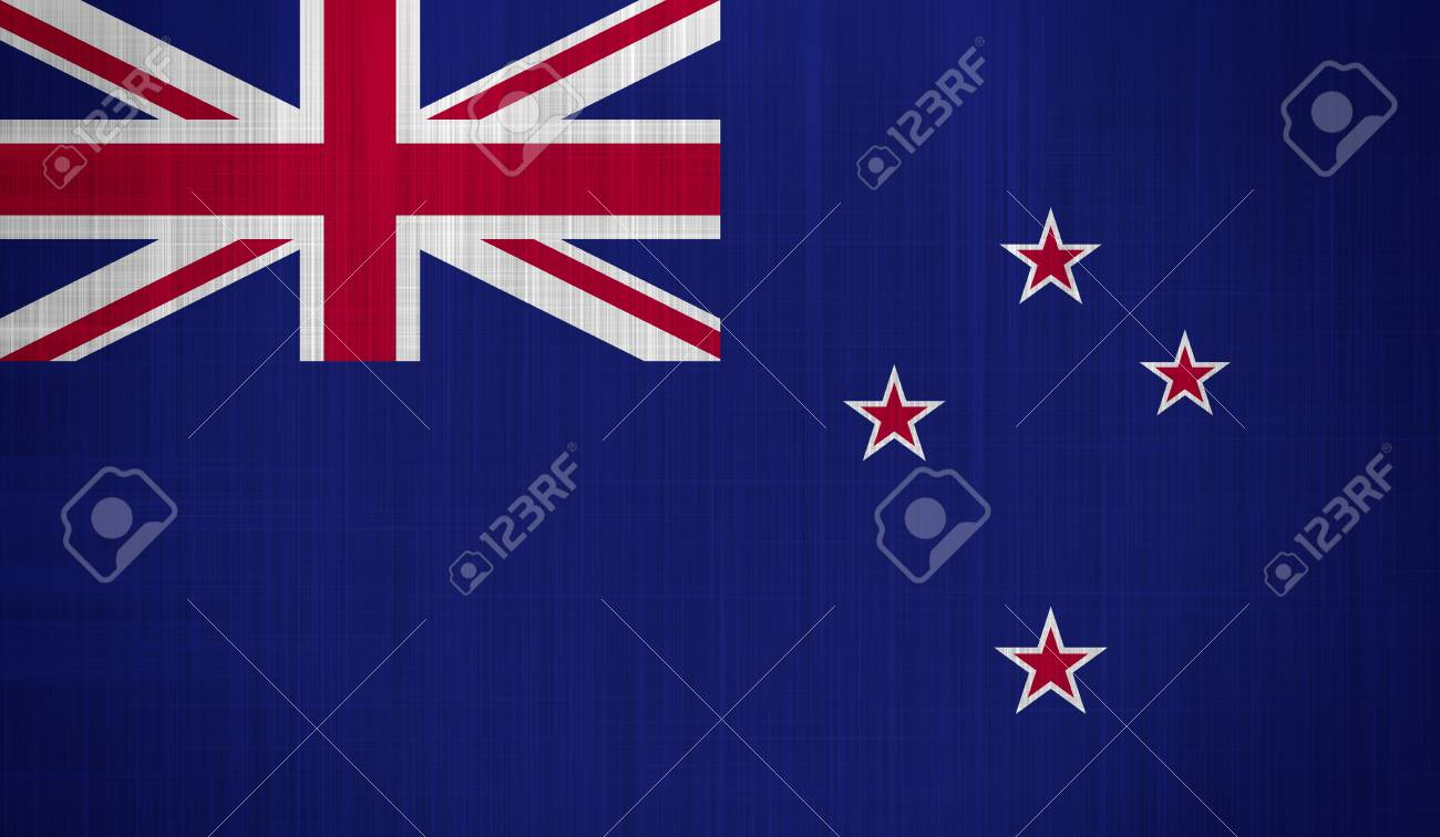 New Zealand Flag with a fabric texture Stock Photo - 18569738